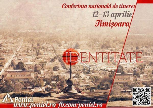 Conferinţa naţională Peniel 12-13 Aprilie, Timişoara.