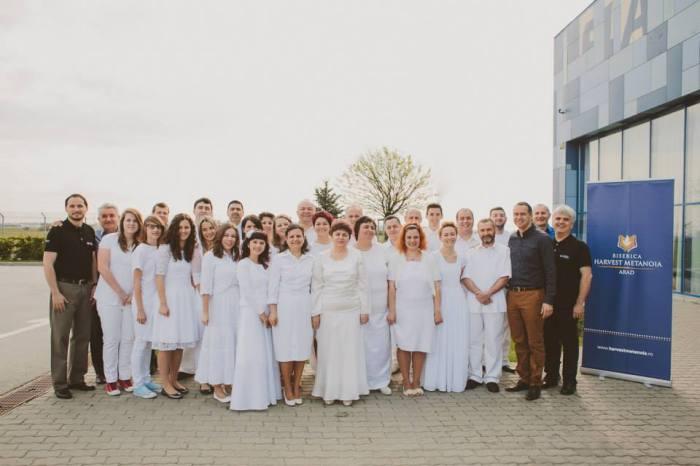 Foto botez Harvest Metanoia Arad, 13 aprilie 2014