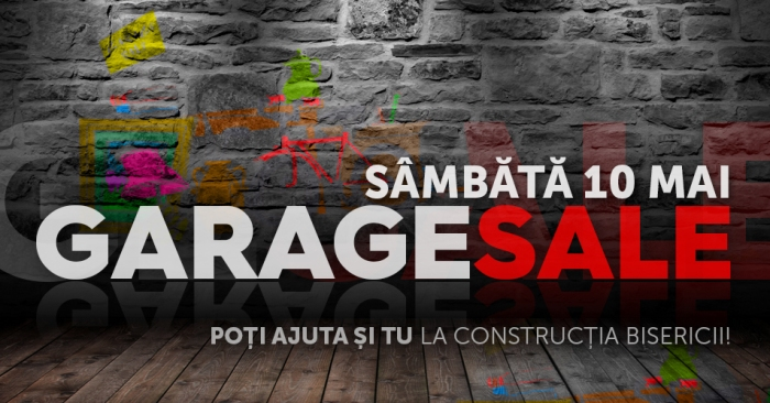 banner-mare-GARAGE-SALE Harvest Metanoia mai 2014