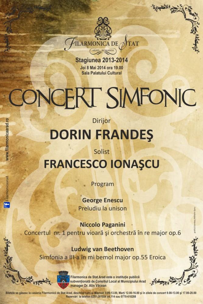 Filarmonica Arad afis_8_mai_2014