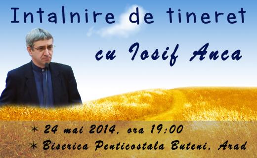 Iosif Anca 24 mai 2014 Buteni