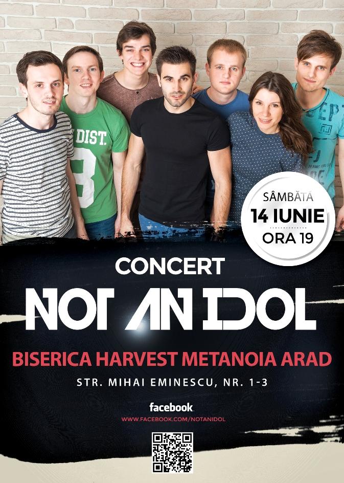 not an idol Harvest Metanoia Arad 14 iunie 2014
