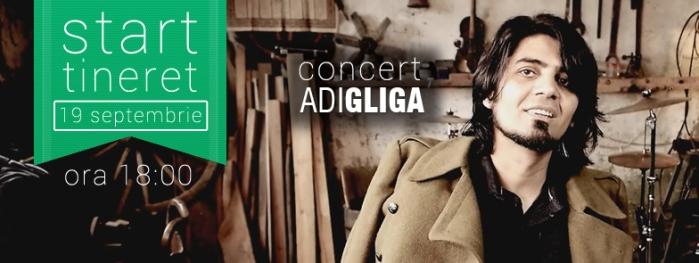 Concert Adi Gliga Metanoia 19 septembrie 2014