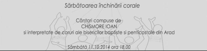 Festivalul de muzică religioasă corală - Ioan Chișmorie