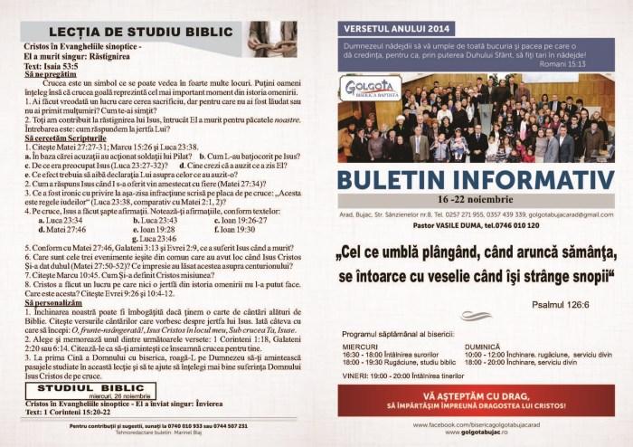 Buletin 16 - 22 noiembrie 2014 -  - Copy_Page_1 (Copy)