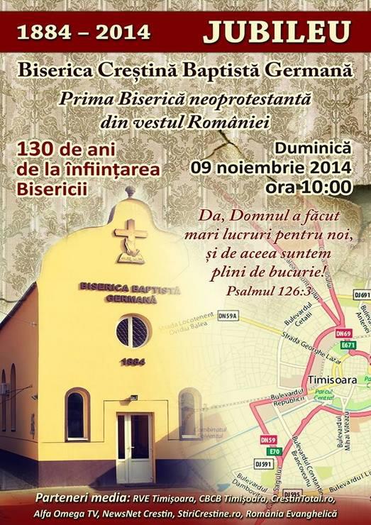 Prima biserică baptistă din România