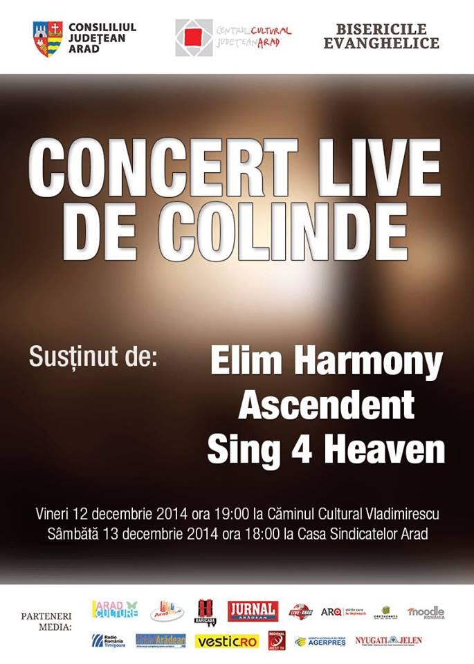 Concert Elim Harmony Ascendent Sing 4 Heaven