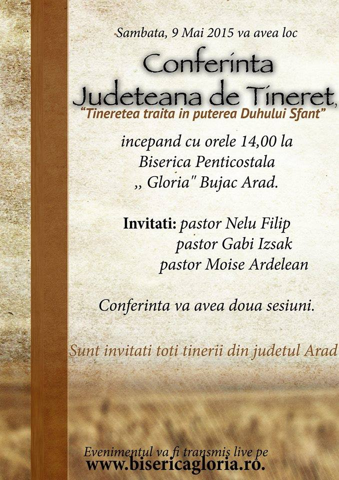 Conferința județeană de tineret