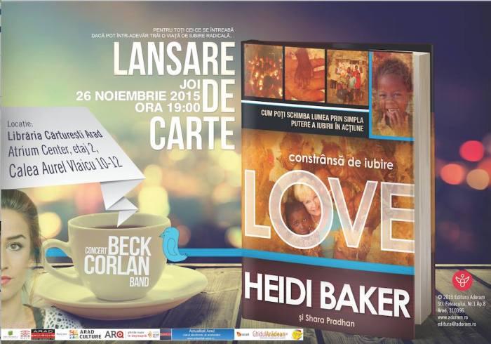 Beck Corlan lansare carte Heidi Baker - Constrânsă de iubire Cărturești Noiembrie 2015 1