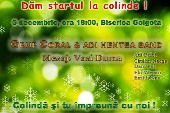 Adi Hentea Golgota Arad 6 Decembrie 2015
