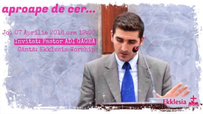 Adi Gagea FaceBook Ekklesia Arad