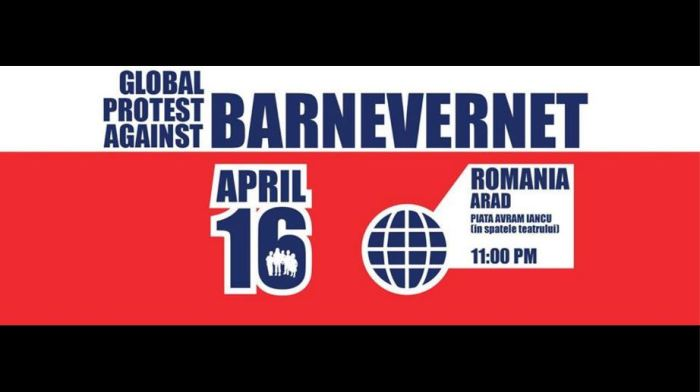 Arad Miting anti Barnevernet