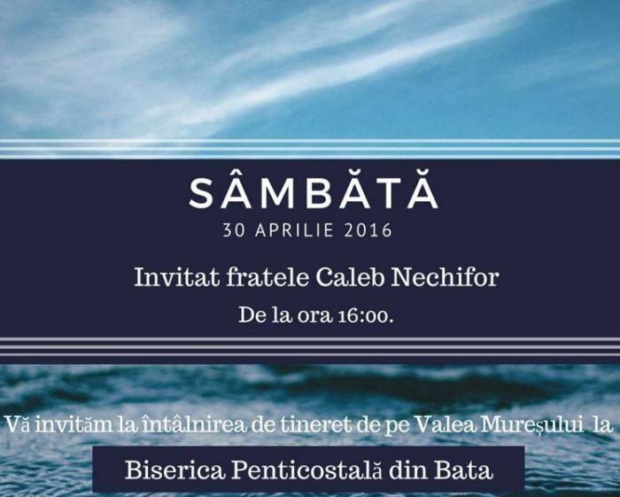 Caleb Nechifor Bata Arad 30 Aprilie 2016