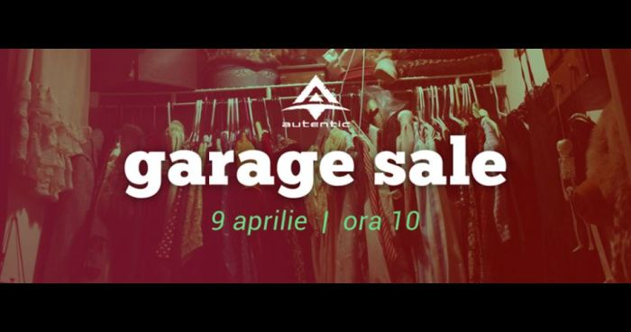 Garage sale Metanoia Arad Aprilie 2016