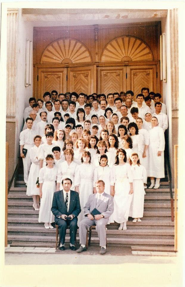 Botez în apă Gloria Arad 17 Mai 1992