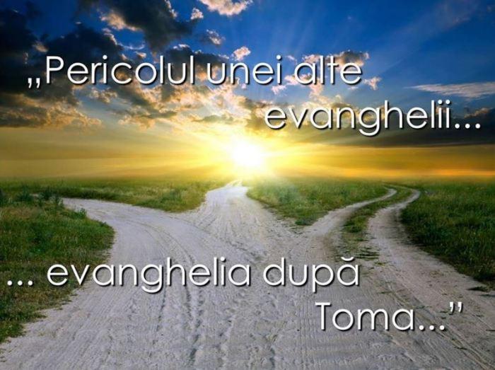 Pericolul unei alte evanghelii