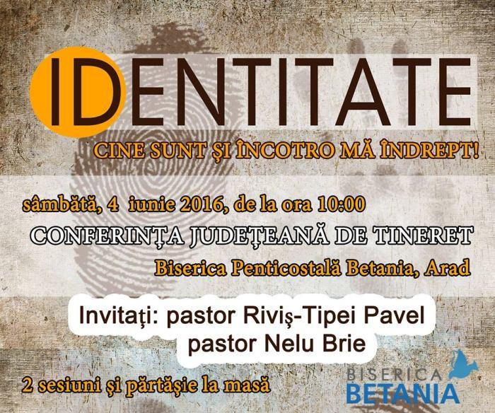 Conferință Județeană de Tineret Betania Arad 04 Iunie 2016