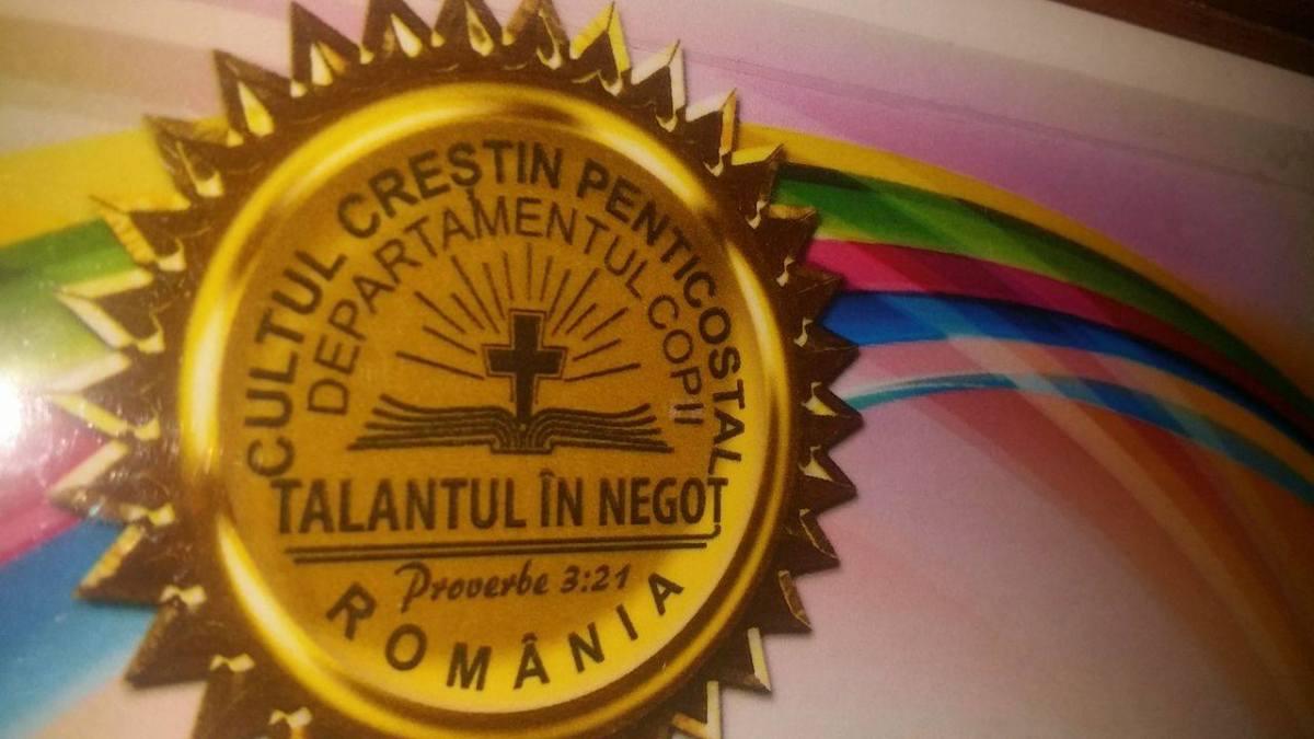 Agenda concursului biblic Talantul in Negot-2017