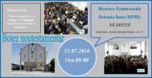 Botez Betel Ineu FaceBook Departamentul de Tineret Penticostal