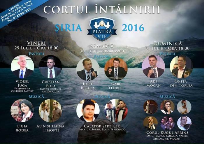 Cortul întâlnirii Șiria Iulie 2016
